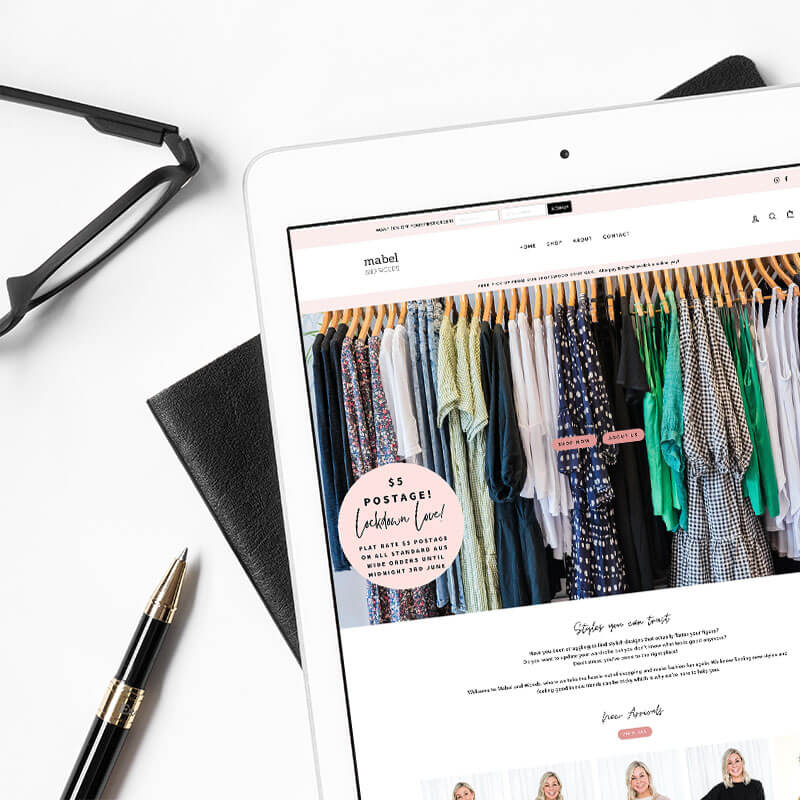 Total revamp of fashion boutique on Shopify